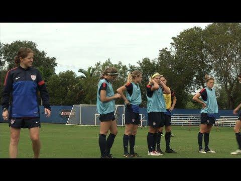 U20 WNT Battles for Roster Spots
