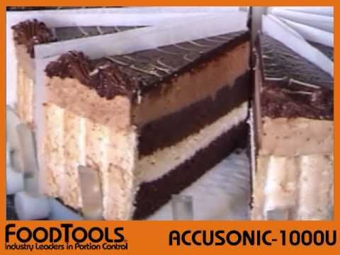 Ultrasonic Round Cake Cutting Machine - ACCUSONIC-1000U