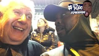 Crystal Palace (0) vs Tottenham (1) EXPRESSIONS FAN EXPERIENCE