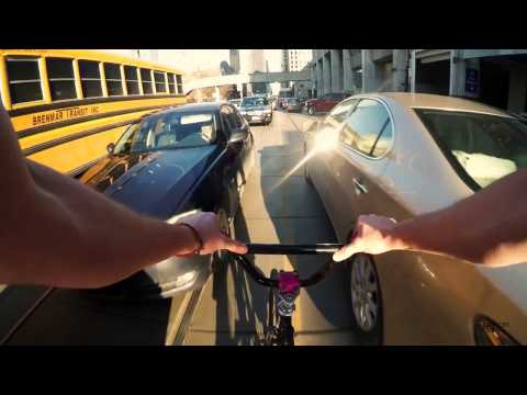 Fixed Gear Toronto Biking to School again (NOW WITH EVEN MORE MUSIC)