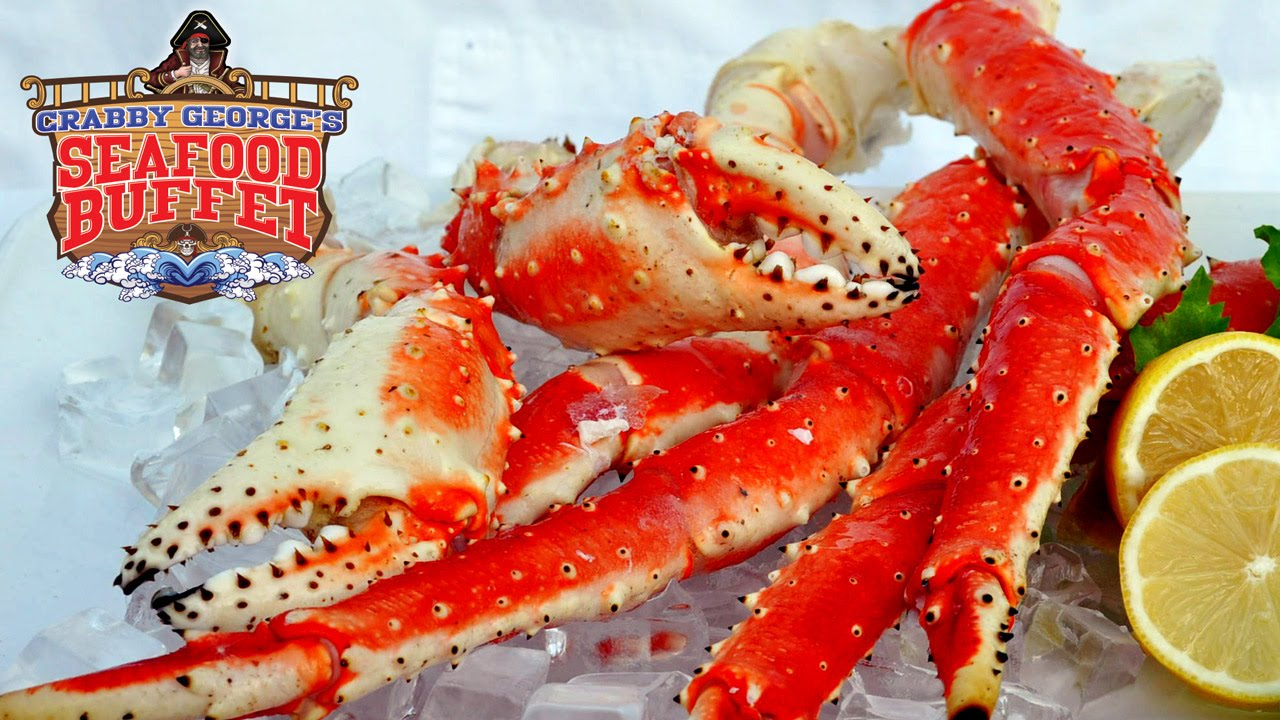 Crabby George's Seafood Buffet, Myrtle Beach SC - YouTube