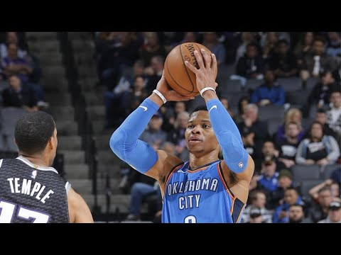 Oklahoma City Thunder vs Sacramento Kings Highlights 2/22/18