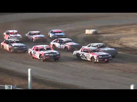 IMCA Hobby Stock Heat  Independence Motor Speedway 8/10/19