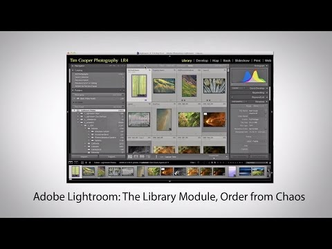 Adobe Lightroom: The Library Module, Order from Chaos