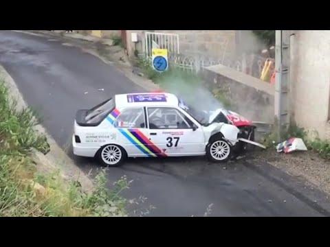 Best-Of Rallye 2018 Part 1 [Big Crash, Mistakes & Max Attack] By Rallye Racing 63