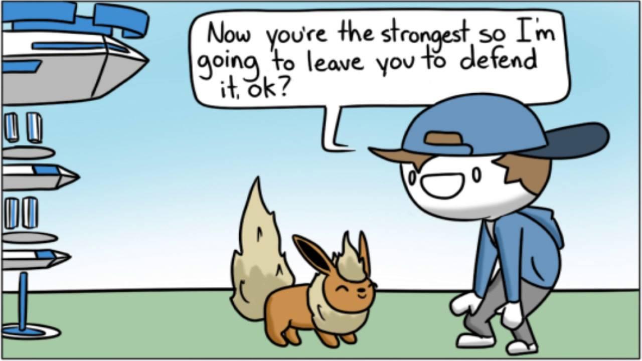 gyms pokemon go comic youtube