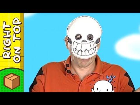 Halloween Crafts Ideas for Kids - Skull Mask | DIY on BoxYourSelf