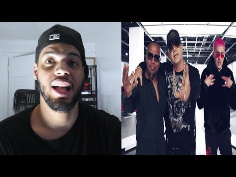Wisin - Move Your Body (Official Video) Timbaland, Bad Bunny - Move ytour body reaction - reaction