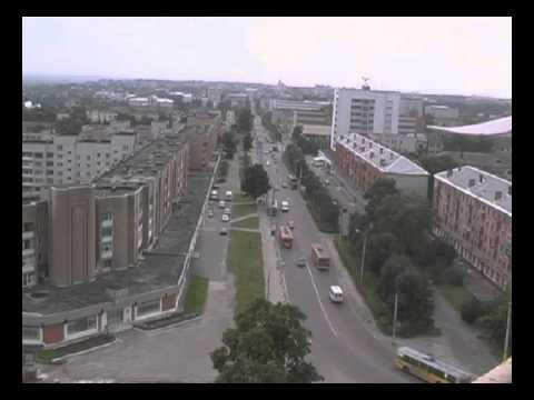 Брянск. Съемка с вертолета. Панорама. 2004 год.