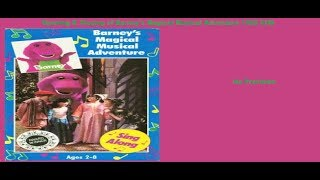 Barney's Magical Musical Adventure 1992 (Home Video) Vhs Opening & Closing