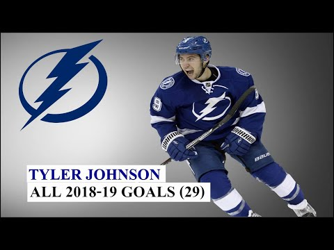 Tyler Johnson (#9) All 29 Goals Of The 2018-19 NHL Season