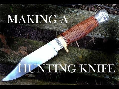 Making a Hunting Knife