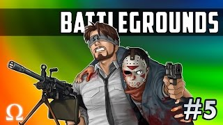 FULL AUTO CARNAGE, BATTLEFIELD MEDIC! | BATTLEGROUNDS #5 - PLAYERUNKNOWN'S Ft. Delirious