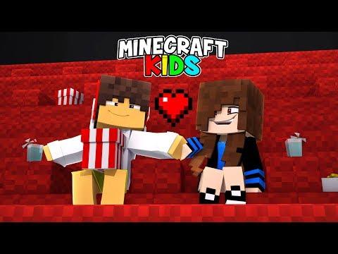 Minecraft Kids #03 - ROMANCE NO CINEMA !!!