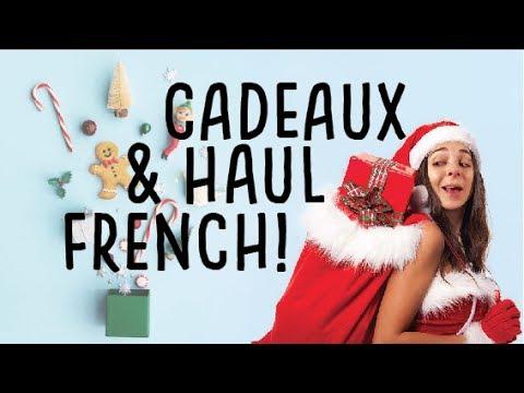 CADEAUX DE NOEL ET MES ACHATS EN FRANCE!