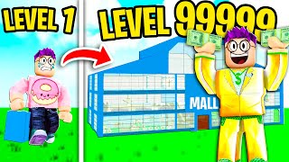 Can We Build a MAX LEVEL MALL In ROBLOX?! (MOST EXPENSIVE VIDEO EVER!)
