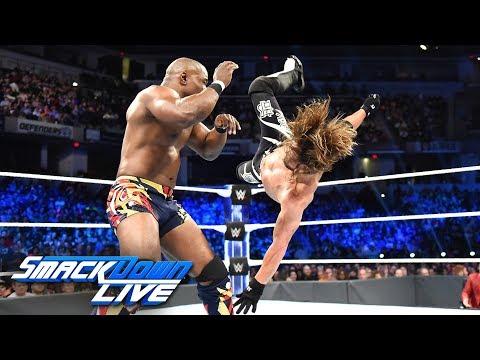 HINDI - AJ Styles vs. Shelton Benjamin: SmackDown LIVE, 9 October, 2018