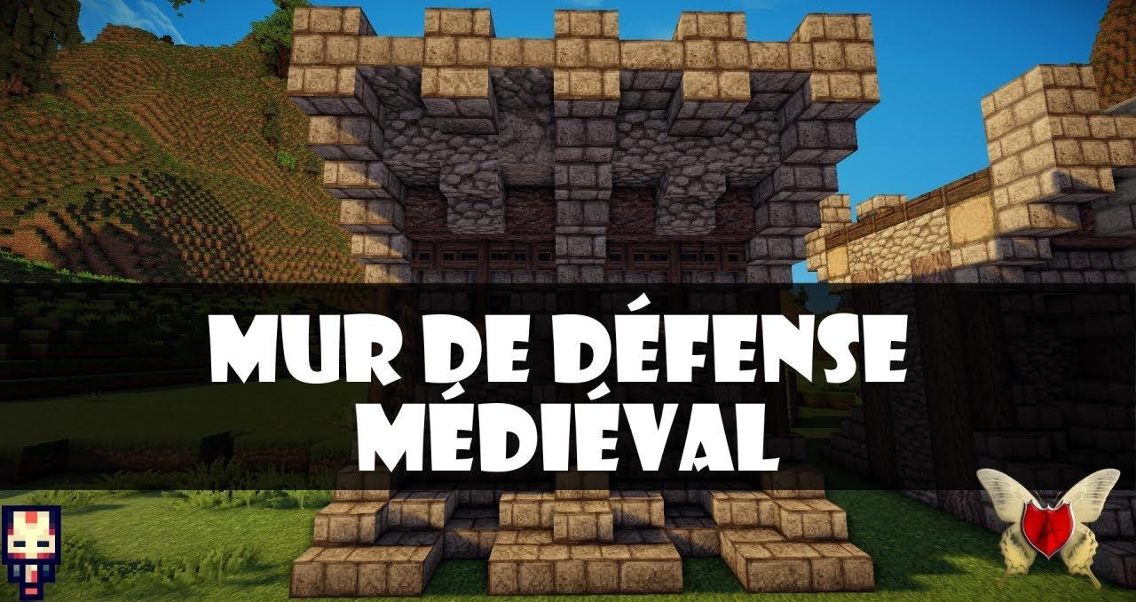 Les mardi tutoriels comment cr er un mur de ch teau m di val dans minecraft - Comment creer un chateau dans minecraft ...