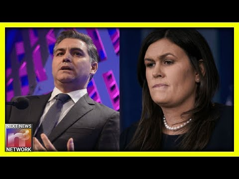 LOL! Sarah Sanders TROLLS Jim Acosta After He's Caught Criticizing The WRONG PERSON