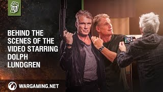 World of Tanks - Behind the scenes: Dolph Lundgren