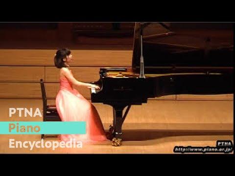 シマノフスキ/変奏曲 変ロ短調 Op.3/演奏:尾崎未空