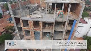 AVANCE DE OBRA ÁGORA Villa Morra - SEPTIEMBRE 2020