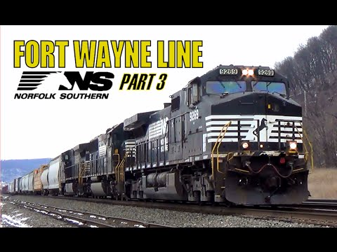 NS Fort Wayne Line Part 3 - January 13, 2016