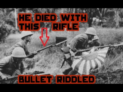 The Japanese Soldier That Carried This Rifle, Didn't Survive.
