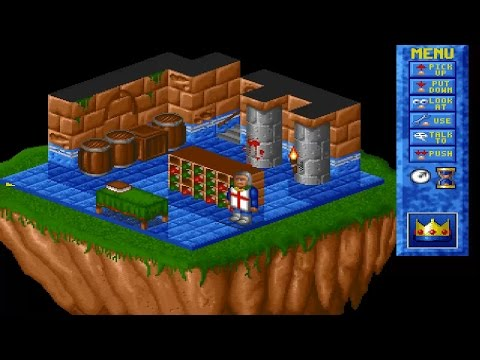 AMIGA Isometric Game Engine Aga Demo Written in Blitz Basic 2 By fish@csc liv ac uk CD Aminet Games