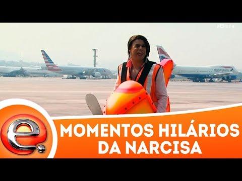 Momentos hilários da Narcisa | Programa Eliana (18/02/18)