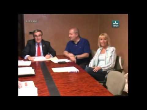 Lleida TV ► Primera reunió de portaveus a la Paeria
