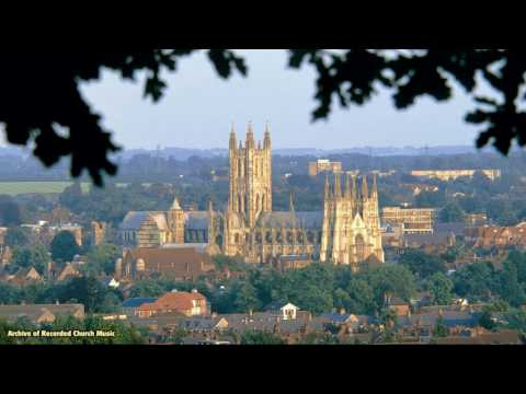 BBC Choral Evensong: Canterbury Cathedral 1985 (Allan Wicks)