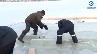 Вадим Супиков организовал в районе ГПЗ-24 большую купель