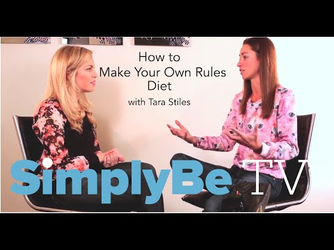 The Make Your Own Rules Diet with Tara Stiles