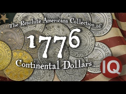 CoinWeek IQ: Resolute Americana Collection of Continental Dollars - 4K Video