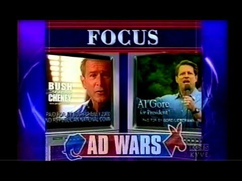 2000 Election Ad Wars: Bush vs. Gore - NewsHour with Jim Lehrer - October 18, 2000