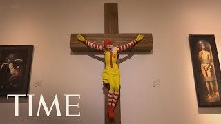 'McJesus' Sculpture Of Ronald McDonald On Cross Outrages Israel's Arab Christian Community | TIME