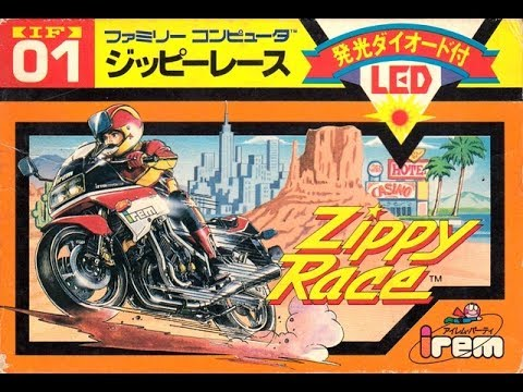Zippy Race (Famicom) REVIEW - FamiThon #50