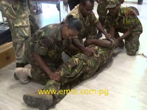 PNG Defence Force Emergency Training