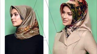 Armine Yeni Sezon Eşarp Bağlama Stilleri Muslima Scarf Style