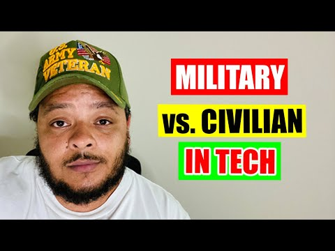 Military Tech Guy vs. Civilian Tech Guy
