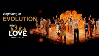 Video Beginning of Evolution | The Beatles LOVE by Cirque du Soleil | 10-Year Anniversary download MP3, 3GP, MP4, WEBM, AVI, FLV Agustus 2018