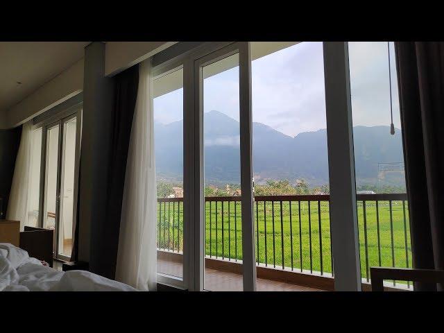 Suite Room View Sawah di Hotel Santika Garut | Pocophone F1 | DJI Spark | DJI Osmo Mobile 2