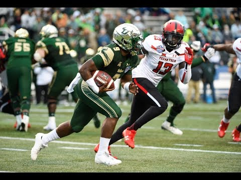Football Highlights - USF 38, Texas Tech 34