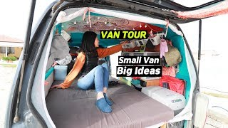2019 Van Tour - After living in a van for 6 months (changes)