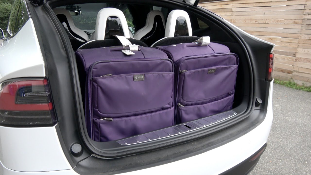 Tesla Model X Luggage Carrying Capacity Youtube
