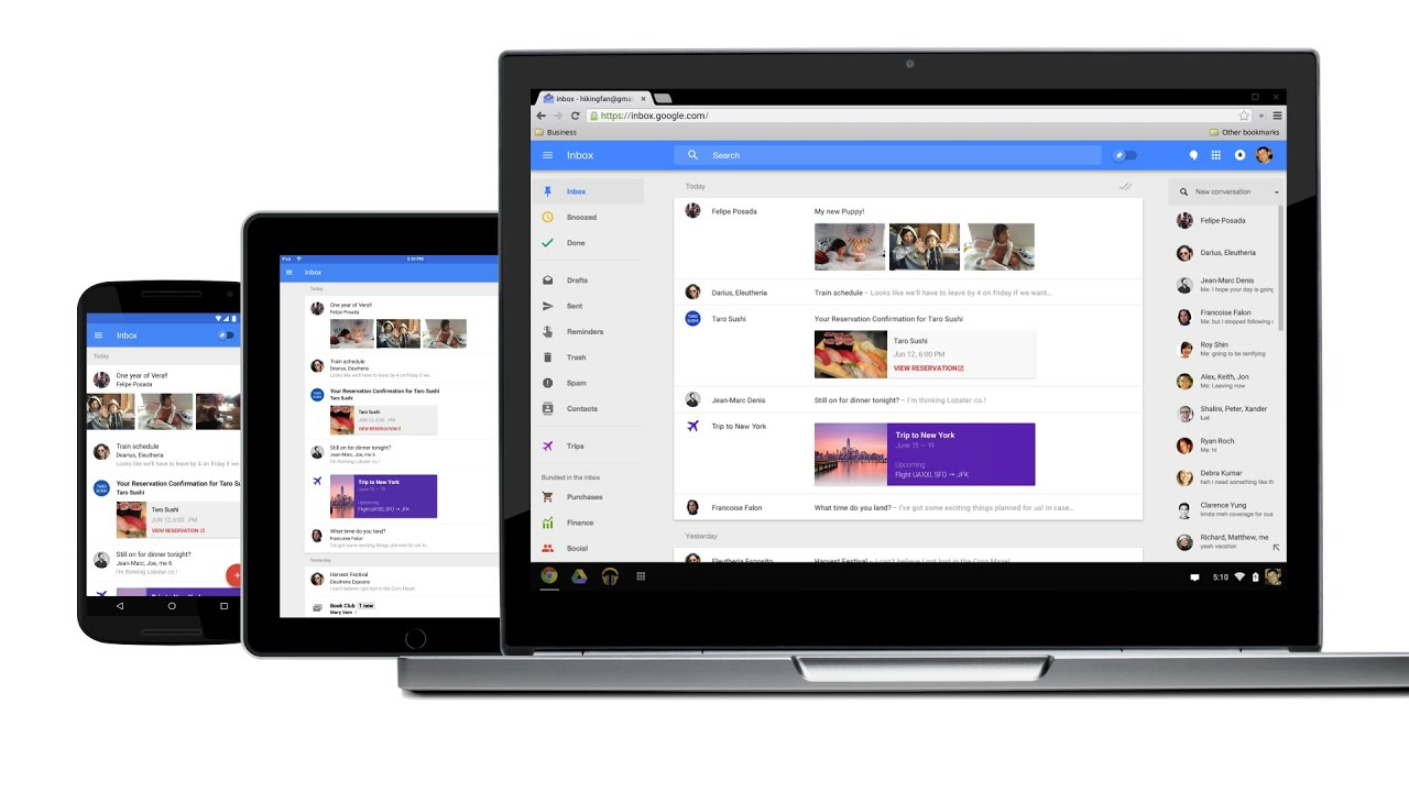 Meet Inbox by Gmail image