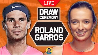 🔴 FRENCH OPEN 2021   Draw Ceremony   LIVE Tennis Reaction
