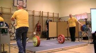 Kari Mattila 255kg marklyft på DM 2010