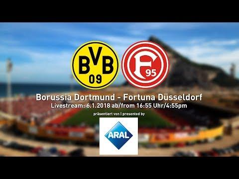 Borussia dortmund vs. fortuna düsseldorf | friendly from gibraltar | relive